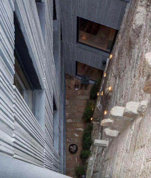 Arquitectura_Hotel armazem_imagen del patio