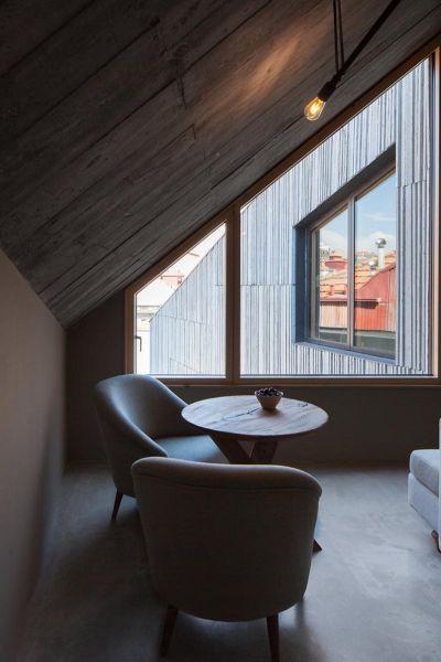 Arquitectura_ARMAZEM_LUXUR_habitación zona superior vistas oporto
