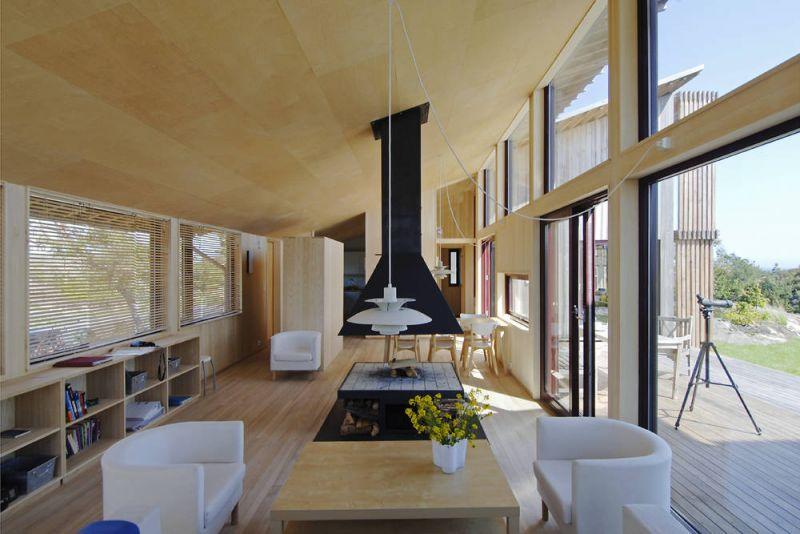arquitectura_Arne Henriksen_Cabaña Oyna_interior_1