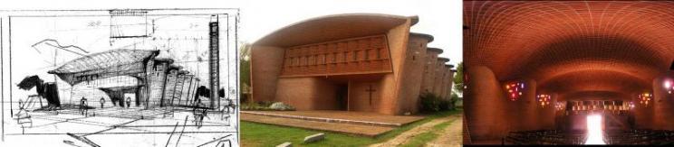 Arquitecto, arquitectura, Eladio Dieste, bóveda, ladrillo, Uruguay