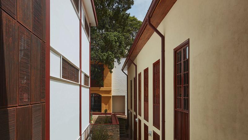Arquitectura _artesanias_Claustro de Nuestra Señora de Las Aguas_colombia_vista de nueva ampliación