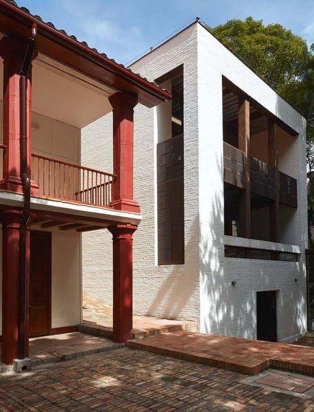 Arquitectura _artesanias_Claustro de Nuestra Señora de Las Aguas_colombia_ampliación volumen