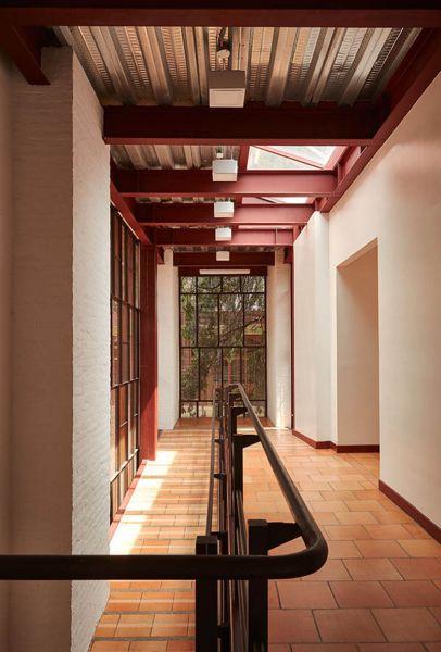 Arquitectura _artesanias_Claustro de Nuestra Señora de Las Aguas_colombia_interior de corredor