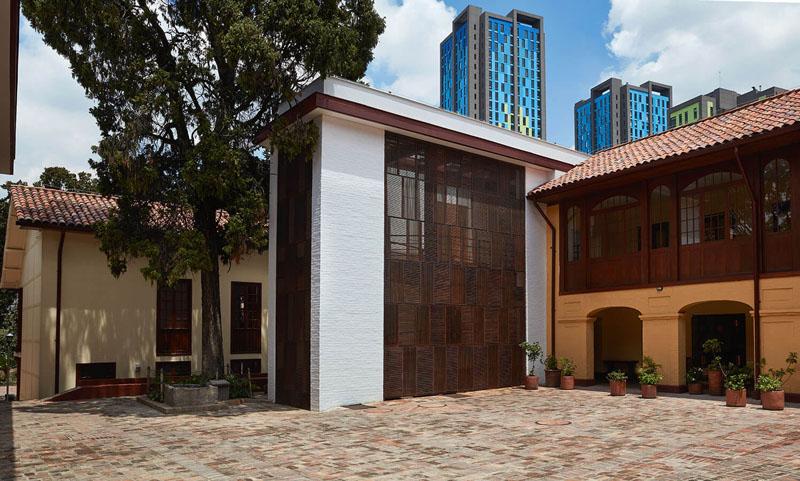 Arquitectura _artesanias_Claustro de Nuestra Señora de Las Aguas_colombia_ fachada trasera