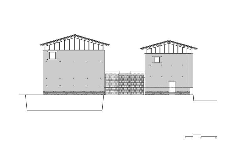 arquitectura_azl_librairie_avant-garde_alzado valle