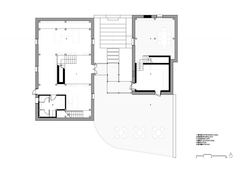 arquitectura_azl_librairie_avant-garde_planta baja