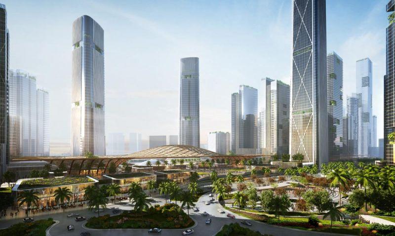 arquitectura bandar malasya eftalia proios render rascacielos