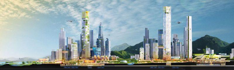 arquitectura bandar malasya eftalia proios render skyline