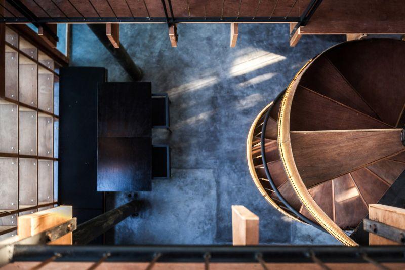 arquitectura_bangkok project studio_detalle escalera
