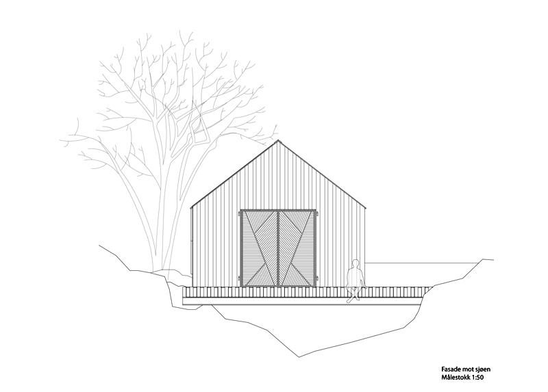 Arquitectura_barco casa TYIN tegnestue _alzado transversal