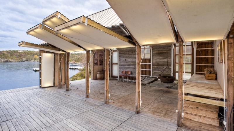 Arquitectura_barco casa TYIN tegnestue _apertura de los paneles