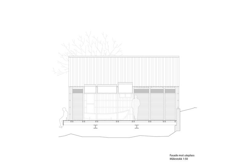 Arquitectura_barco casa TYIN tegnestue _Alzado lateral