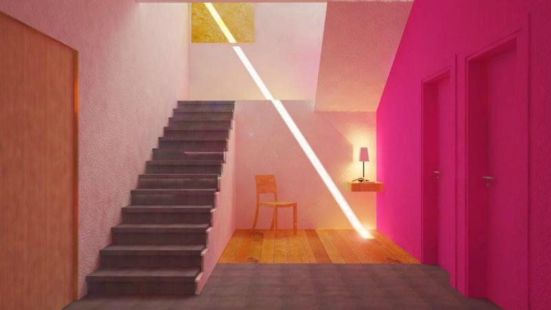 arquitectura barragán escalera