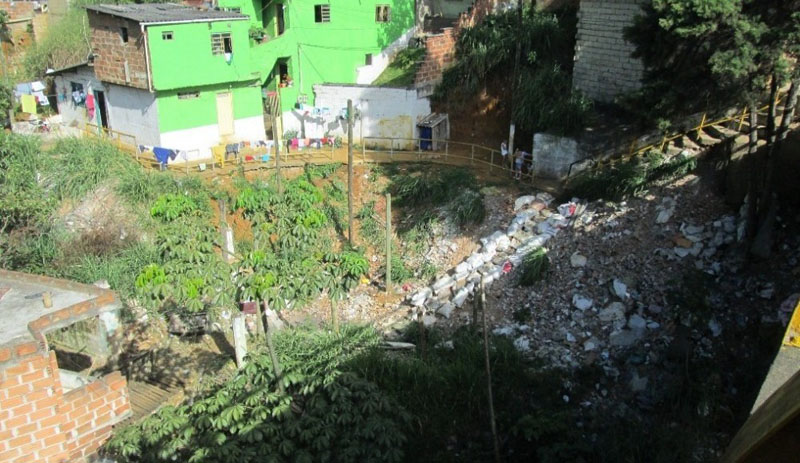 Arquitectura_ Barrio Villa del Socorro antes de la rehabilitacion