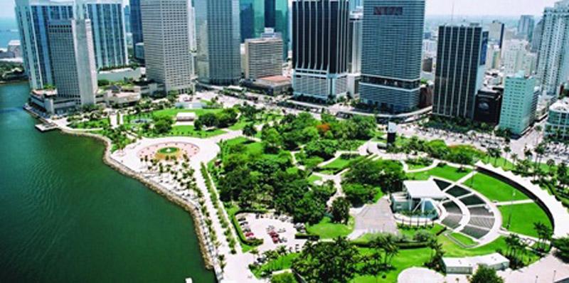 Arquitectura_Isamu Noguchi _ Bayfront Park, Miami, 1980-1996