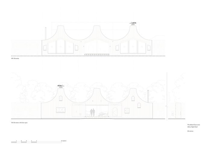 arquitectura_belvue-school-studio-weave_ alzado