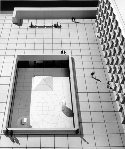 Arquitectura_Isamu Noguchi_ Biblioteca Beinecke. Universidad de Yale. 1960-64