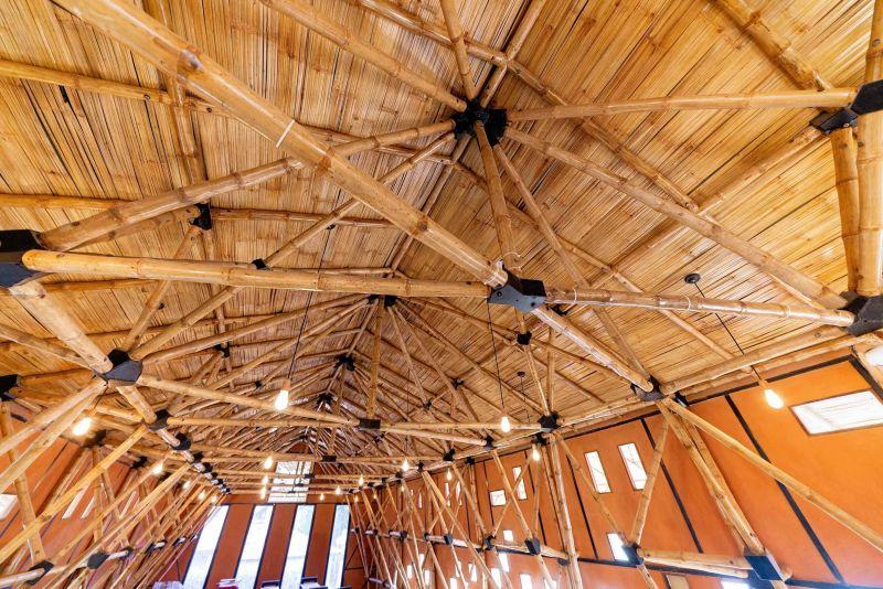 arquitectura_biblioteca Nepal_ bambú