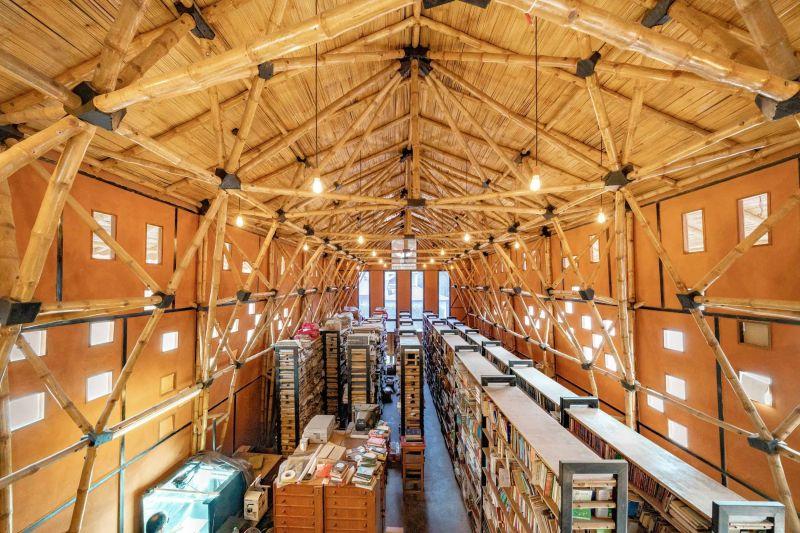 arquitectura_biblioteca Nepal_ archivo
