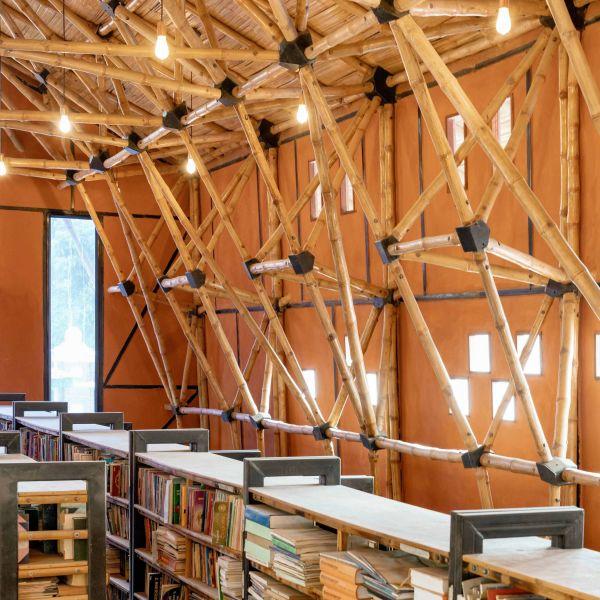 arquitectura_biblioteca Nepal_ ventanas