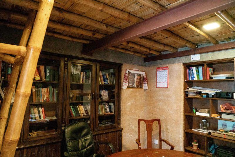 arquitectura_biblioteca Nepal_oficinas