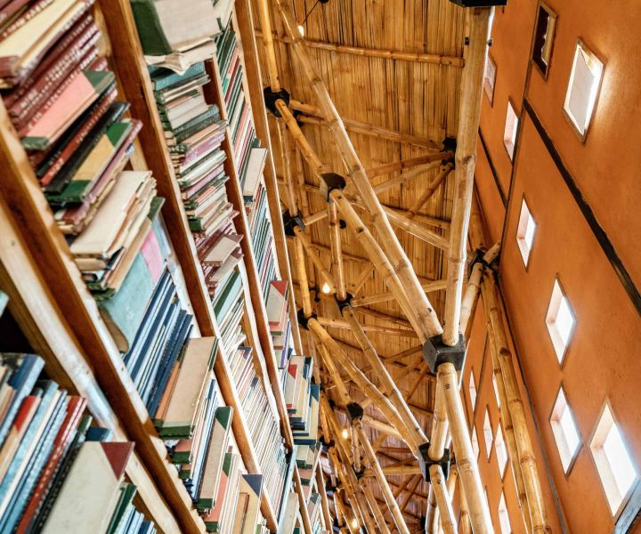 arquitectura_biblioteca Nepal_ acabados