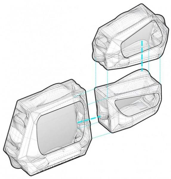 arquitectura biológica_esquema montaje módulos