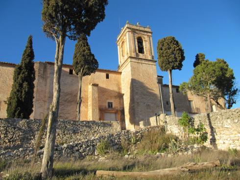 arquitectura iglesia en Bocairent