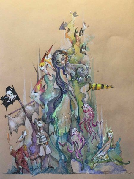 concurso de ideas fallas 2017 boceto para 2017