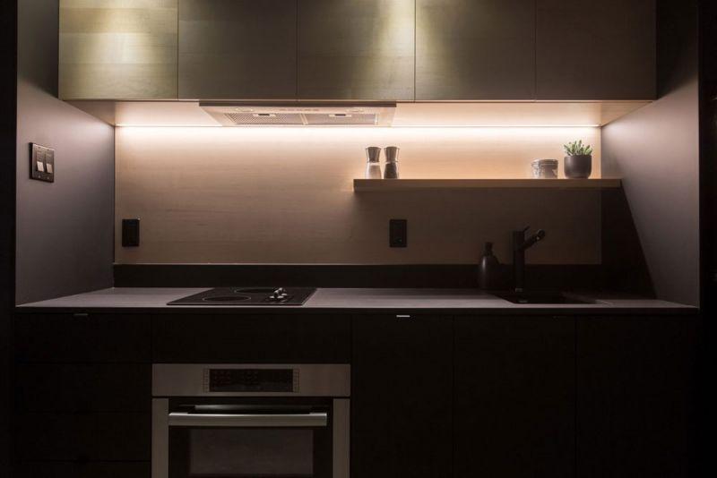 arquitectura Bourgeois/Lechasseur Architectes Dômes Charlevoix fotografia interior cocina