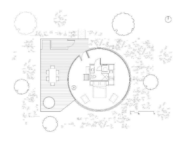 arquitectura Bourgeois/Lechasseur Architectes Dômes Charlevoix planta
