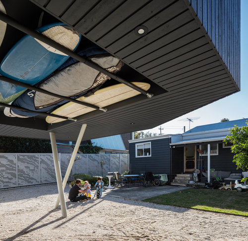 arquitectura_Braham Architects_Beach Office_tablas surf
