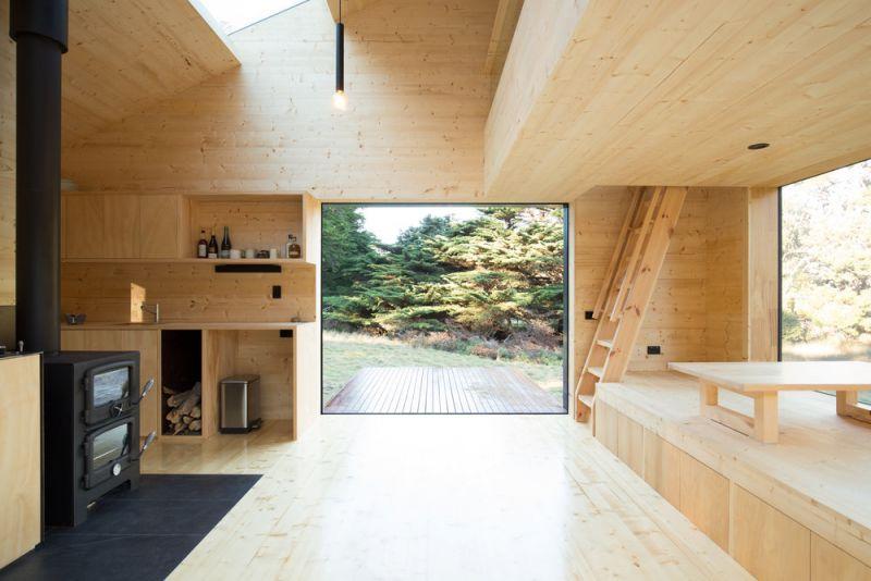 arquitectura_Bruny island_interior