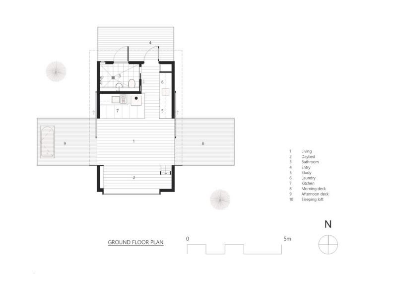 arquitectura_Bruny island_planta
