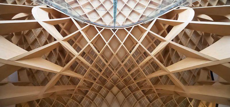 arquitectura_Bunjil-Place_estructura cubierta
