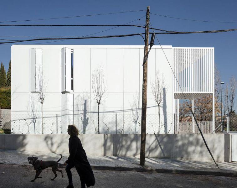 arquitectura BXD Arquitectura casa MG fotografía Alejo Bagué alzado lateral