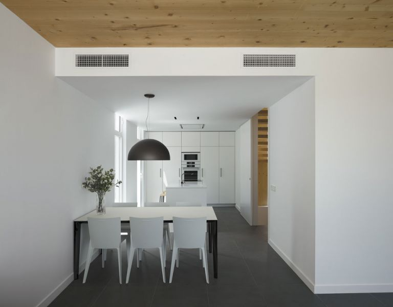 arquitectura BXD Arquitectura casa MG fotografía Alejo Bagué comedor