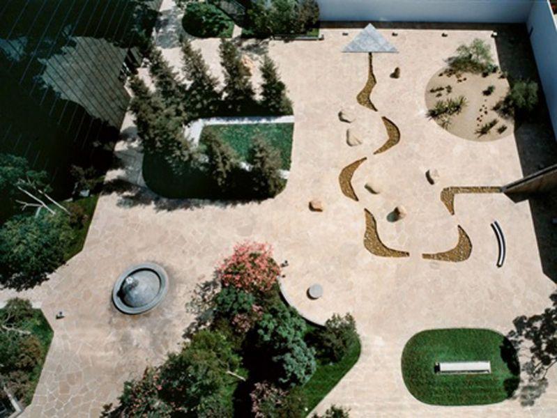 Arquitectura_Isamu Noguchi _California Scenario, in Costa Mesa 1980-82