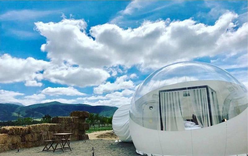 Arquitectura _ Campera Hotel_valle de Guadalupe_vista transparecia y opaco