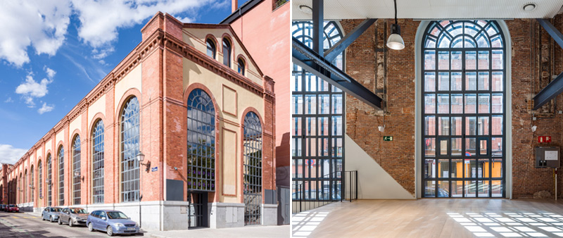 Google Campus En Madrid Arquitectura Industrial