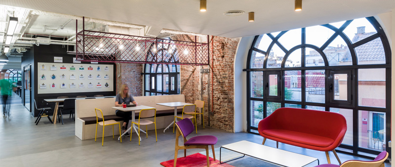 Google campus en madrid arquitectura industrial - Trabajo de arquitecto en madrid ...
