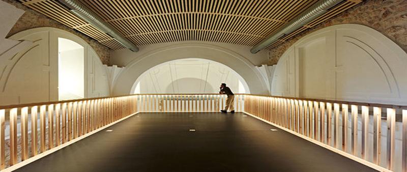 arquitectura, arquitecto, rehabilitación, restauración, capilla, polivalente, Brihuega