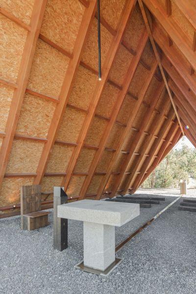 arquitectura_capilla nuestra señora de Fátima_piedra