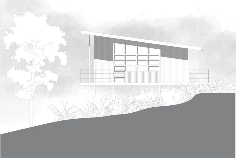 arquitectura_cardamom club_plano cabaña