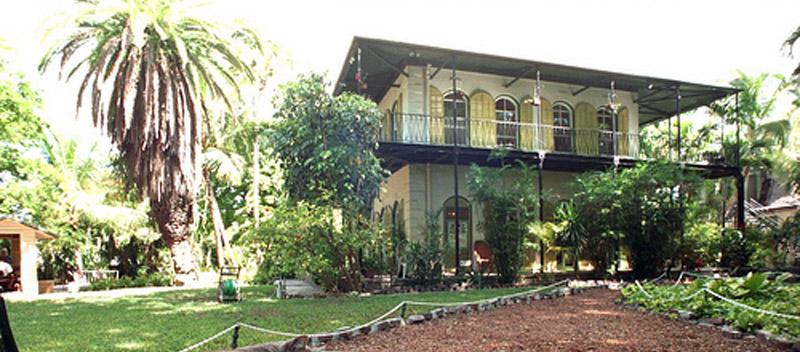 arquitectura Casa E Hemingway_ Key West _vista acceso