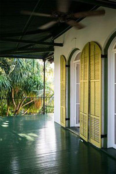 Arquitectura_casa E Hemingway_ imagen porche