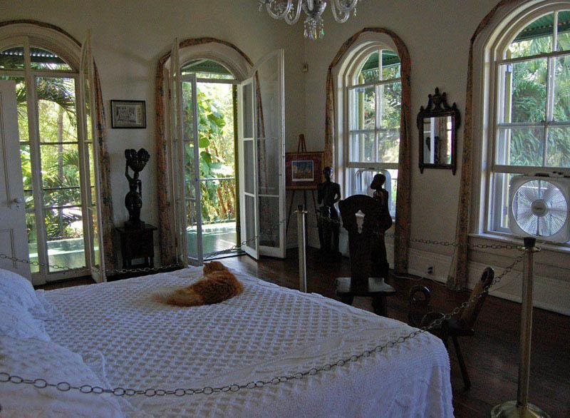Arquitectura_casa E Hemingway_ habitación