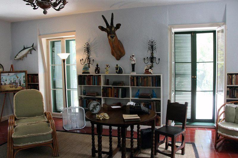 Arquitectura_casa E Hemingway_ estancia salon