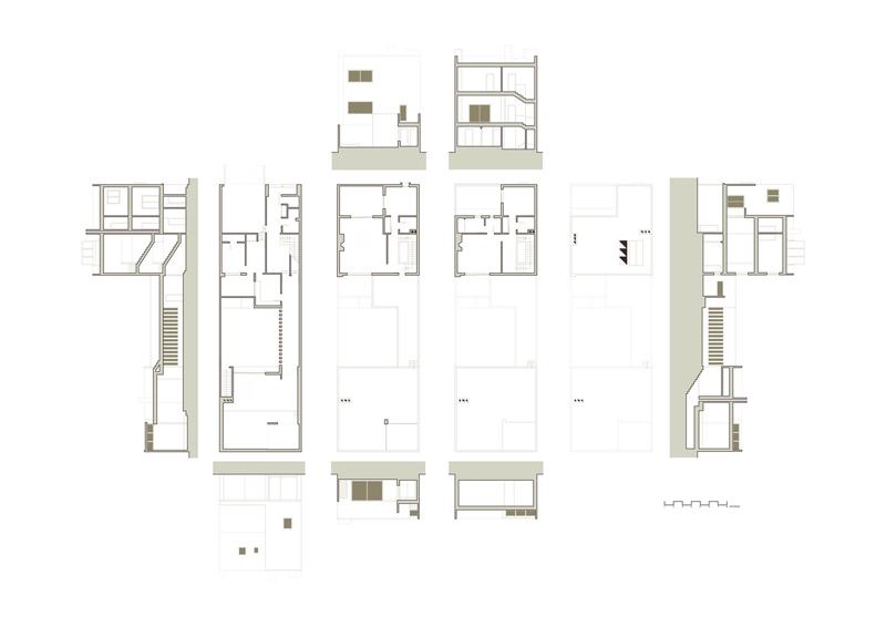 Arquitectura Barragán dibujos casa Gilardi