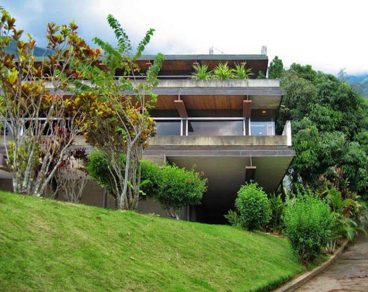 arquitectura_casa-gonzalez-gorrondona- vista desde la entrada